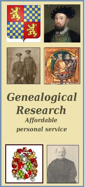 Genealogical research by Barb van harn