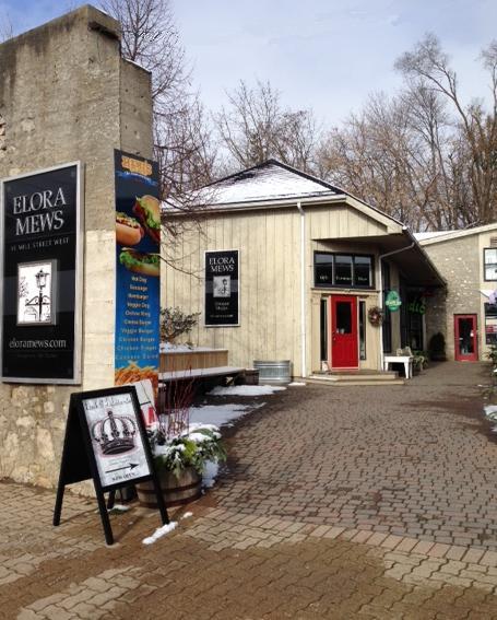the village of Elora Ontario