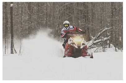 Snowmobile in Ontario