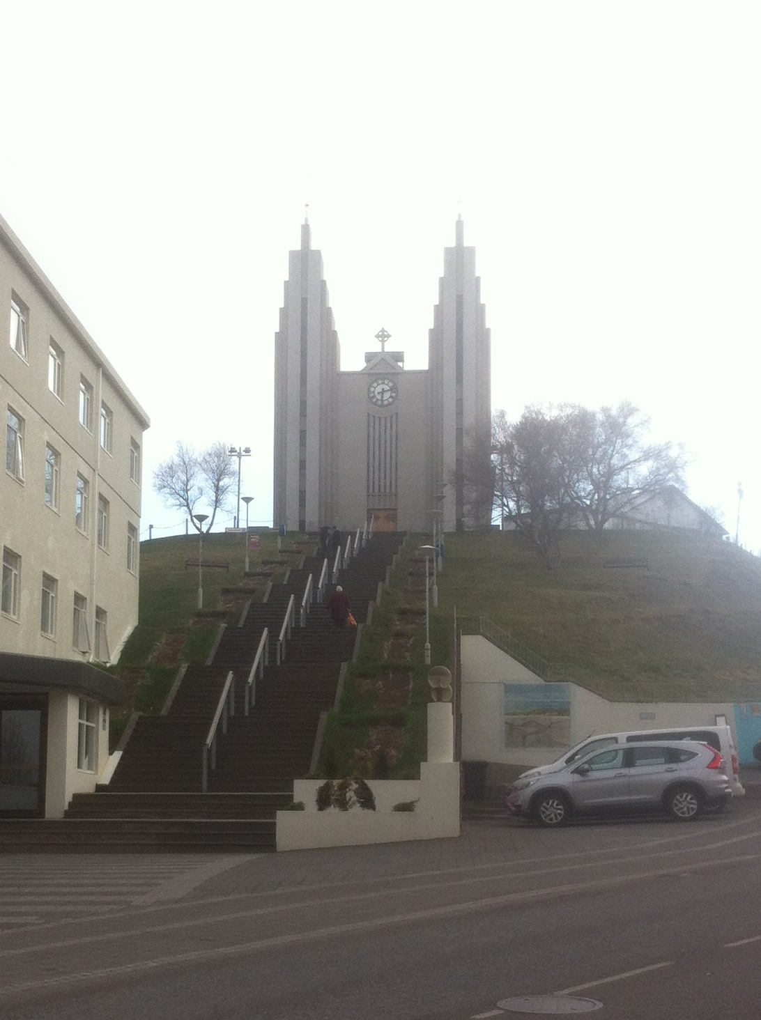 Akureyrarkirkja Lutheran Church, Akureyri Iceland