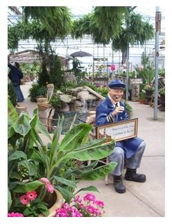 Old Fisherman, Lakeview Gardens