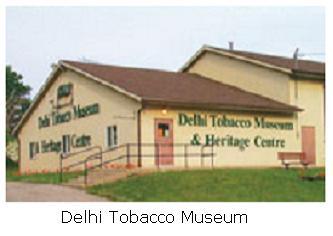 Delhi tobacco museum in Delhi, Ontario