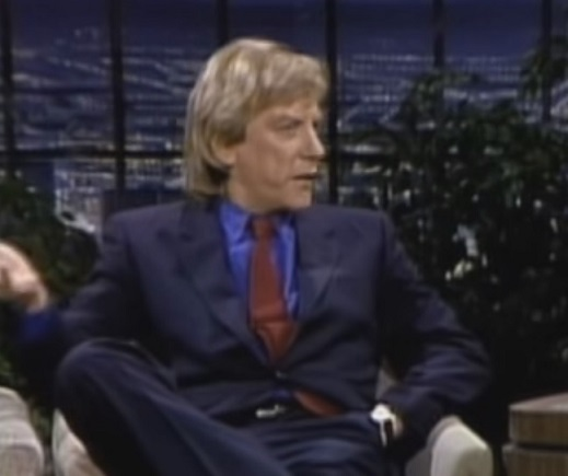 interview with Donald Sutherland, actor - Canadian, born July 17 1935