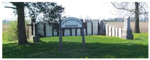British American Institute Cemetery, Dresden