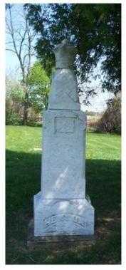 Josiah Henson grave, Dresden, Ontario