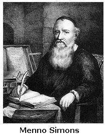Menno Simons founder of Mennonites