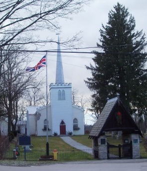 Old St Thomas Church, Walnut St, St Thomas Ontario