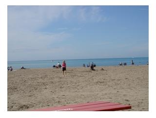 Lake Erie beach at Port Stanley
