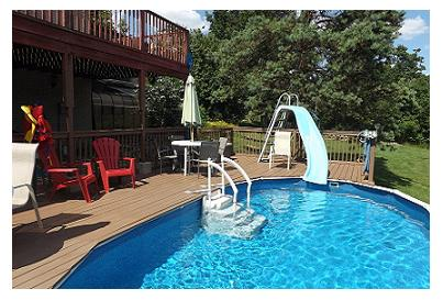 swimming pool at 42815 Beck Line, St Thomas