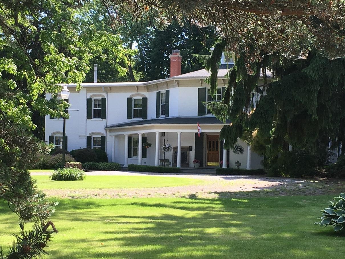 The historic King House, Kingsville, Ontario