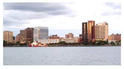 Windsor Ontario skyline