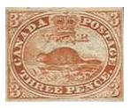 Beaver - Canadian Stamp