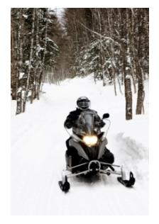 winter snowmobiling around Ontario on the OFSC trails