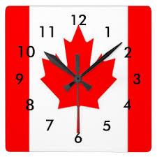 Canadian Clock
