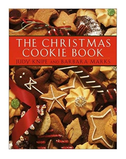 Book of Christmas cookie baking