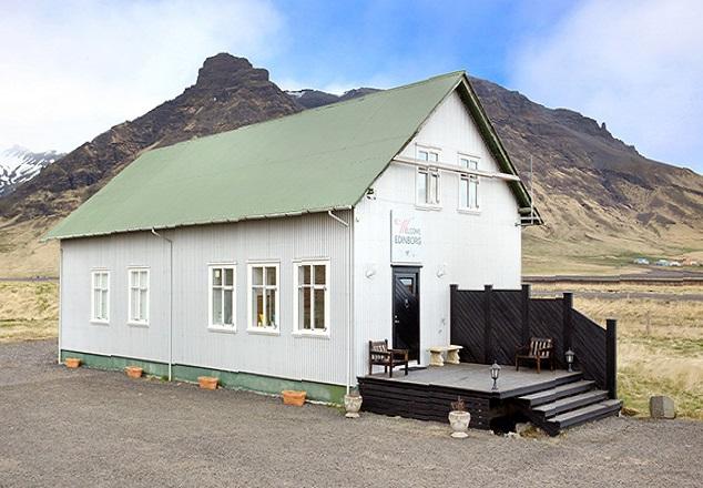 Edinborg Guesthouse, Eyvindarhólar, near Eyjafjallajökull volcano, Iceland