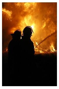 Alma College Fire, St Thomas, Ontario