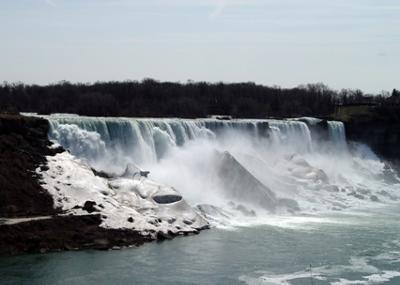 Here is Niagara Falls in Winter, Coraline!