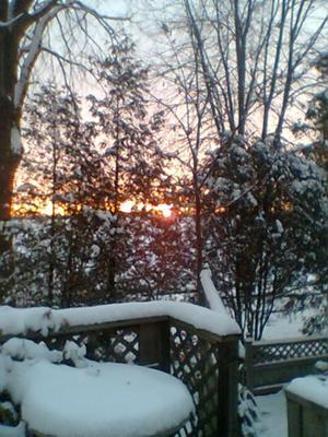 Sunrise, South Western Ontario Style