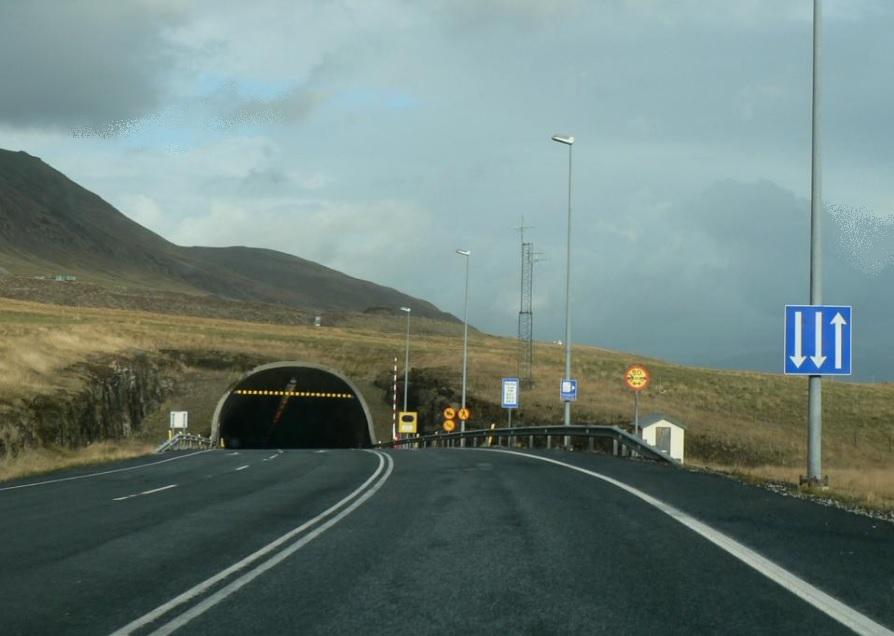 Hvalfjörður Tunnel, Iceland