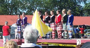 Highland Dancers - Embro Highland Games 2010