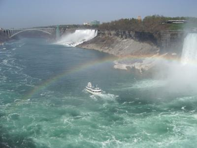 Niagara Falls & the Maid of the Mist