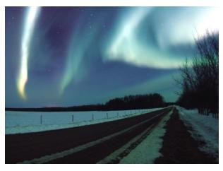 The spectacular Northern Lights in Canada - Aurora Borealis