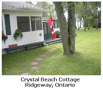 Cottage at Crystal Beach