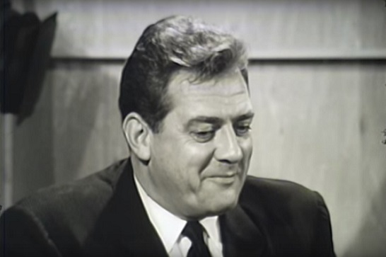 Raymond Burr Canadian actor