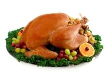 Roast Turkey Christmas Dinner in Canada