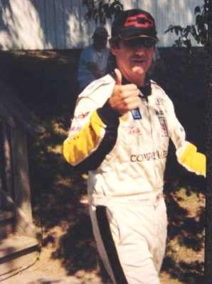Canadian Racecar Driver Ron Fellows