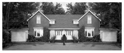 Side by side Semi-detached homes in Southern Ontario with garages