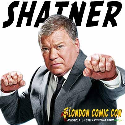 William Shatner Comic Con 2017 London