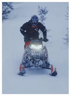 Snowmobiling in Ontario on OFSC trails