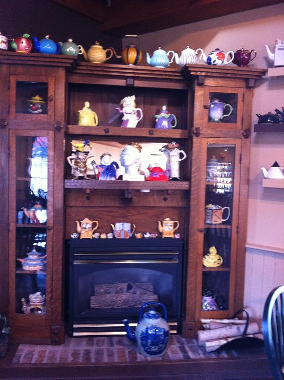 Tea Pot collection, Sparta House Tea Room and Restaurant, Sparta