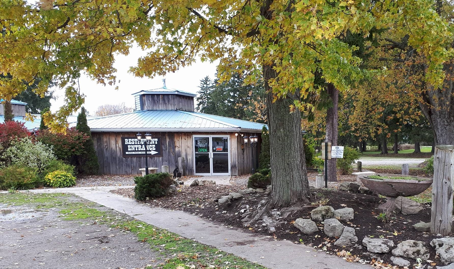 Talbot Trails restaurant, in the village of Eagle, Ontario