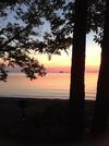 Island Ferry Sunset