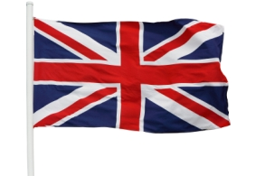 Flag Union Jack of Great Britain