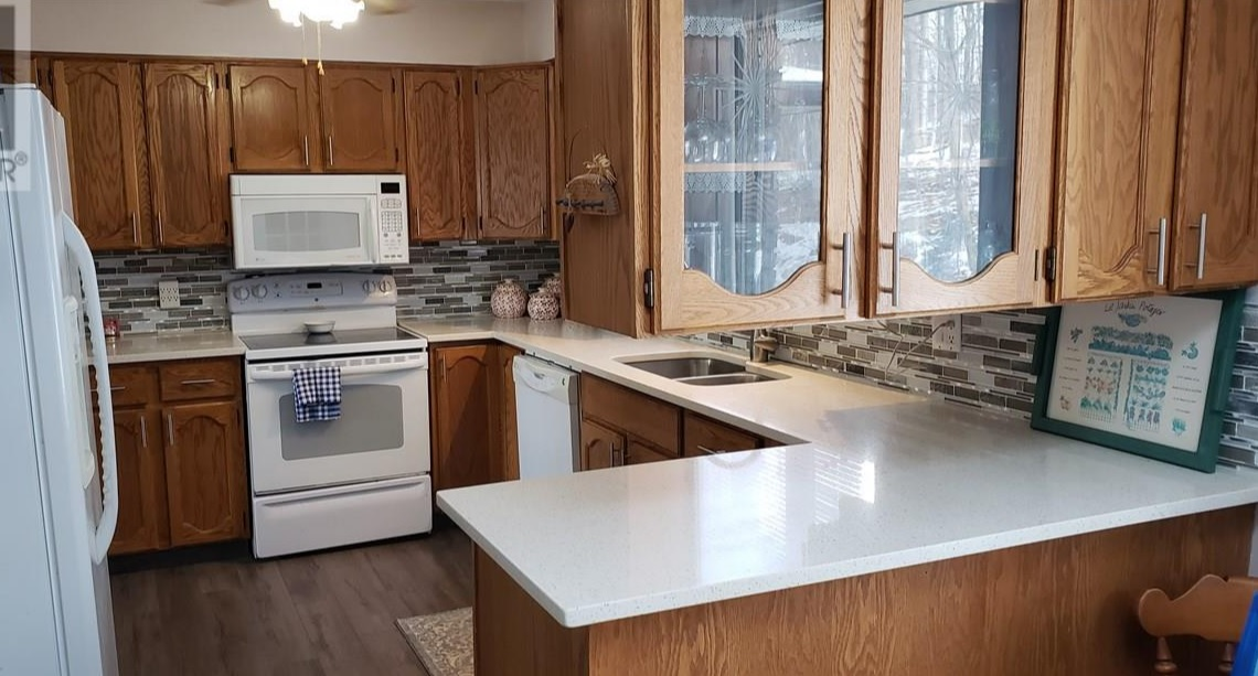 kitchen view at 42815 Beck Line, St Thomas