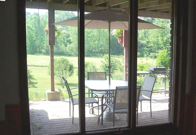view from bedroom at 42815 Beck Line, St Thomas