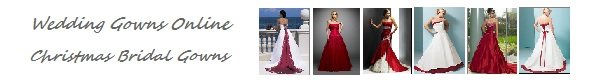 Christmas Wedding Gowns online - free shipping!