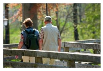 Hiking holiday for couples