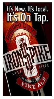 Iron Spike Beer, Railway City Brewing Company, St Thomas