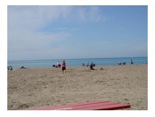 Lake Erie beach at Port Stanley