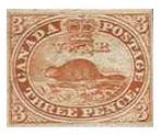 Beaver - Canadian Stamp