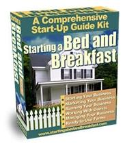 Start your Bed & Breakfast business