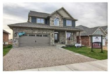 Collier Homes Model Home Shaw Valley estate St Thomas Ontario