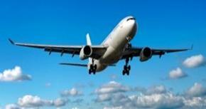 London International Airport, airplane