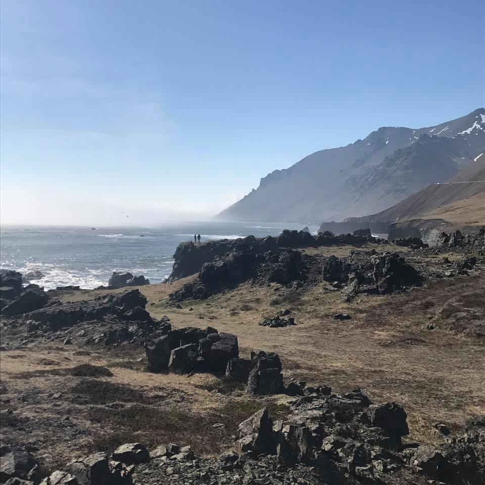 Wild North Atlantic Ocean Iceland