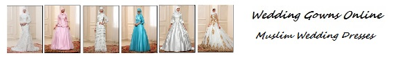 Muslim Wedding Dresses - Islamic bridal wear